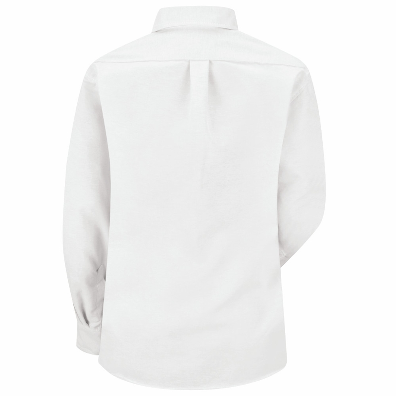 SR71WH Long Sleeve Women's White Executive Button-Down Shirt