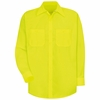SS14 Hi-Vis Shirt Long Sleeve Without Reflective Tape (2 Colors)