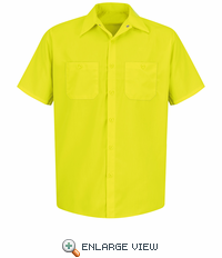 SS24 Hi-Vis Shirt Short Sleeve Without Reflective Tape (2 Colors)