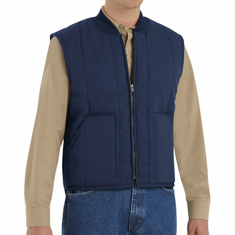 Vt22 Quilted Work Vest 2 Colors
