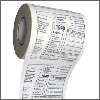 1040 tax form toilet paper - Click to enlarge