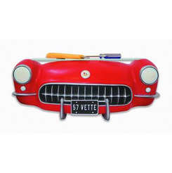 1957 Corvette Front 3-D Wall Shelf