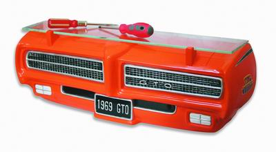 69 Pontiac GTO Judge 3-D Wall Shelf - Click to enlarge