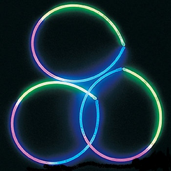 "22"" Premium Multi-Color Glow Necklaces (Bulk Tube of 50)"