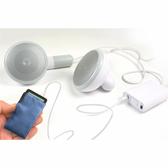500 XL Extra Large Desktop Earbud Speakers