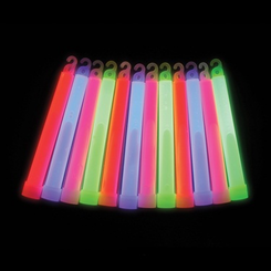 "Novelty - 6"" Glow Sticks (4-6 hours)"