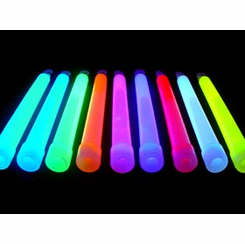 "Bulk - 6"" Glow Sticks (4-6 hours) (Qnty48)"