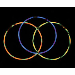 Single Color Deluxe Glow Bracelets