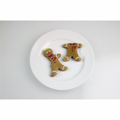 ABC Cookies Already Been Chewed Gingerbread Men Cookie Cutter Mold