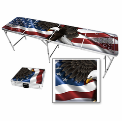 American Eagle USA Beer Pong Table
