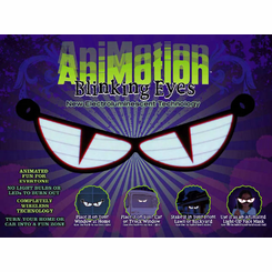 Animotion ElectroLuminescent Blinking Eyes