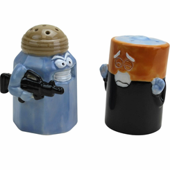 Assault & Battery Salt & Pepper Shakers