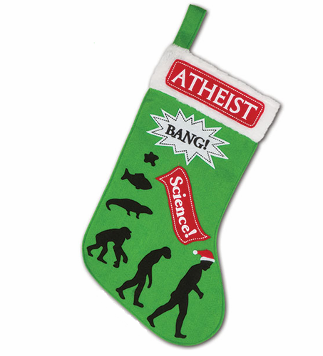 Atheist Stocking - Click to enlarge