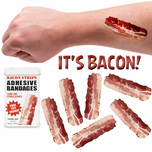 Bacon Strips Bandages - Click to enlarge