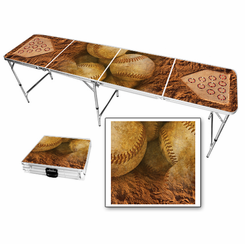 Baseball Home Plate Beer Pong Table