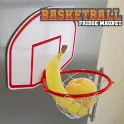 Basketball Fridge Magnet