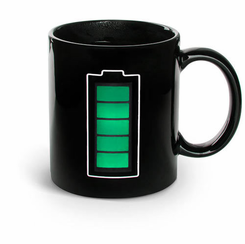Battery Mug (Heat Sensitive)