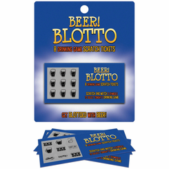 BEER! BLOTTO Scratch Off Tickets