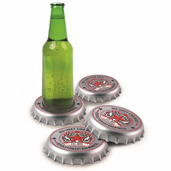 Beer Bottle Top Coasters