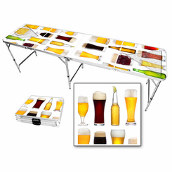 Beer Collage Beer Pong Table