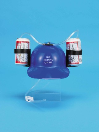 Beer Guzzler Helmet - Click to enlarge