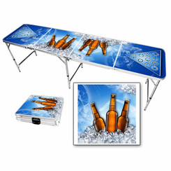 Beer On Ice Beer Pong Table
