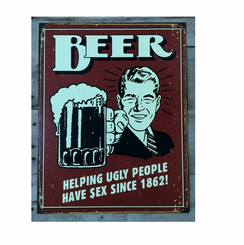 Beer Since 1862 Tin Sign