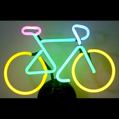 Bike Neon Sculpture Light
