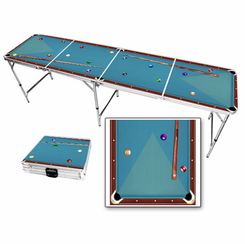 Billiards Beer Pong Table