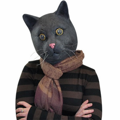 Black Jack Cat Mask