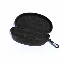 Black Sport Eyeglass Case