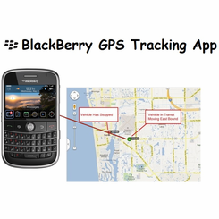 Blackberry GPS Tracking App