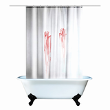 Blood Bath Shower Curtain