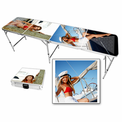 Boating Bikini Girls Beer Pong Table