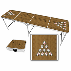 Bowling Alley Beer Pong Table