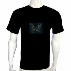 Butterfly Light Up LED Shirt