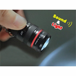 Camera Lens Light Up Keychain