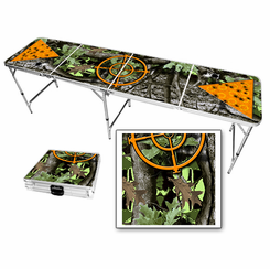 Camo Gunsight Beer Pong Table