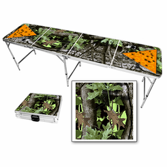 Camo Themed Beer Pong Table