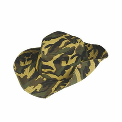 Camouflage Cowboy Hat