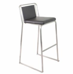 Cascade Barstool Black (Sold In Pairs) BS-BG-CASCADE-B