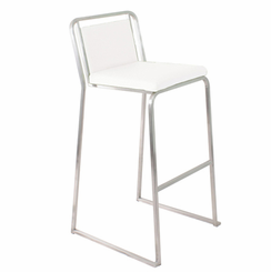 Cascade Barstool White (Sold In Pairs) BS-BG-CASCADE-W