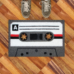 Cassette Tape Welcome Mat