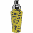 Caution Tape Martini Shaker
