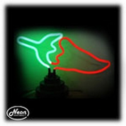 Chili Pepper Neon Sculpture Light