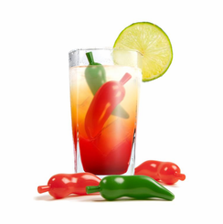 Chilli Peppers Ice Cubes
