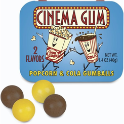 Cinema Gum: Popcorn and Cola Flavored