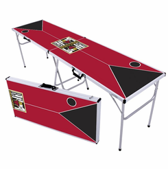 Classic Red Zone Beer Pong Table