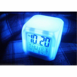ColorCube Glowing LED Digital Alarm Clock
