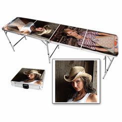 Country Babes Beer Pong Table